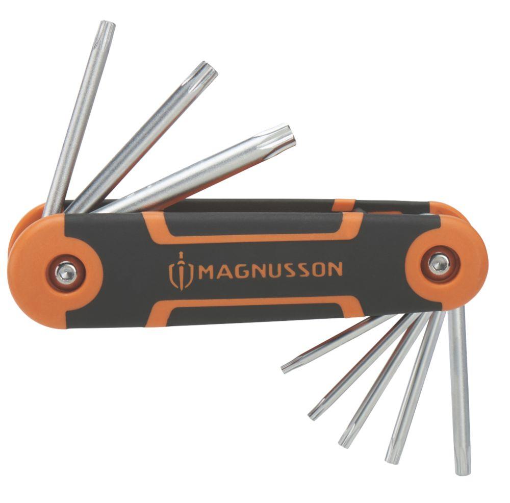 Magnusson  TX Folding TX Key Set 8 Pieces
