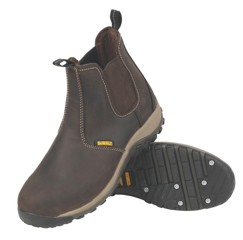 DeWalt Radial   Safety Dealer Boots Brown Size 10