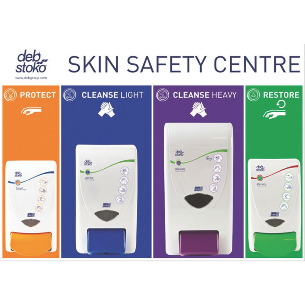 Deb Stoko White 3-Step Skin Protection Centre