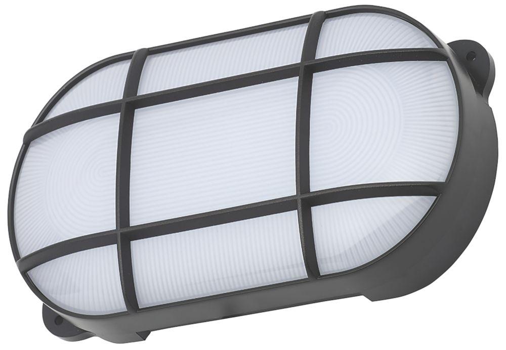 Coast CZ-34027-BLK Oval LED Bulkhead Black 15W