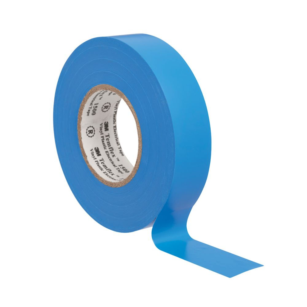 3M Temflex Insulating Tape Blue 25m x 19mm