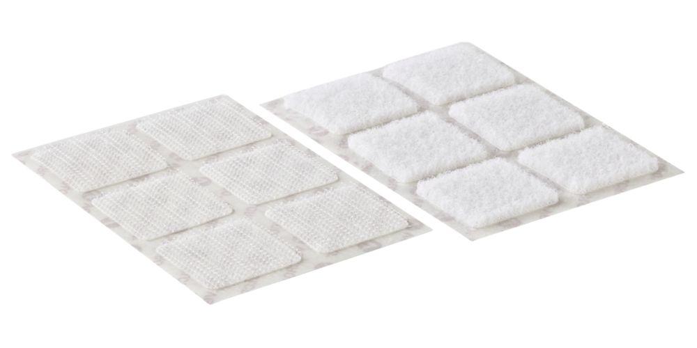 Velcro Brand  White Stick-On Squares 24 Pack