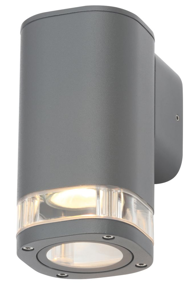 Zinc 32255 Up or Down Wall Light Anthracite