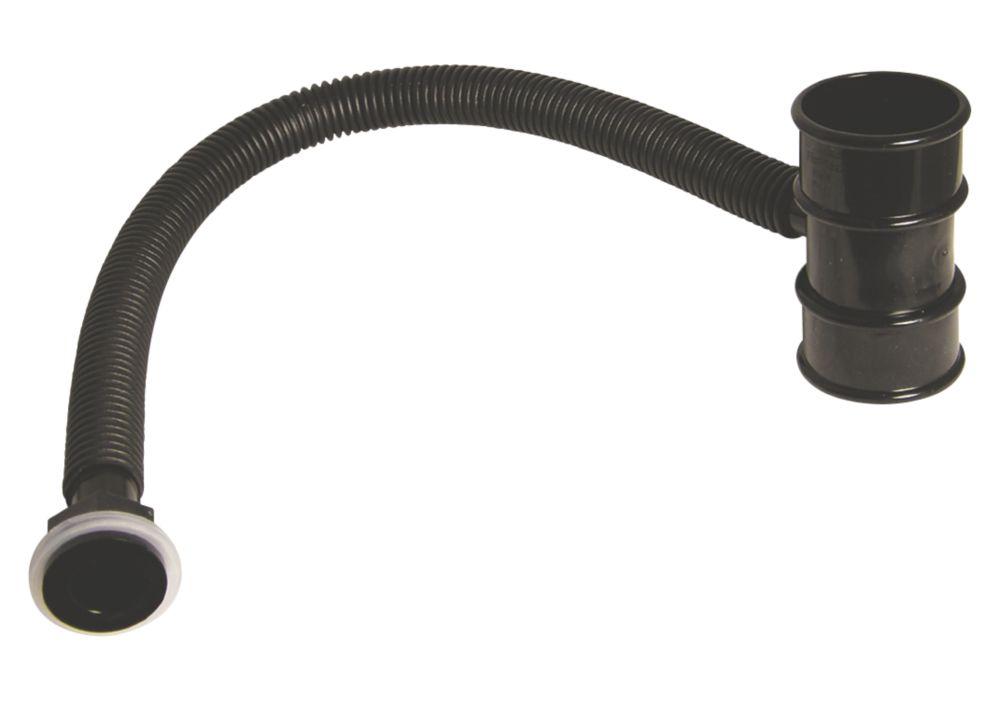 FloPlast MiniFlo Rainwater Diverter 210mm Black