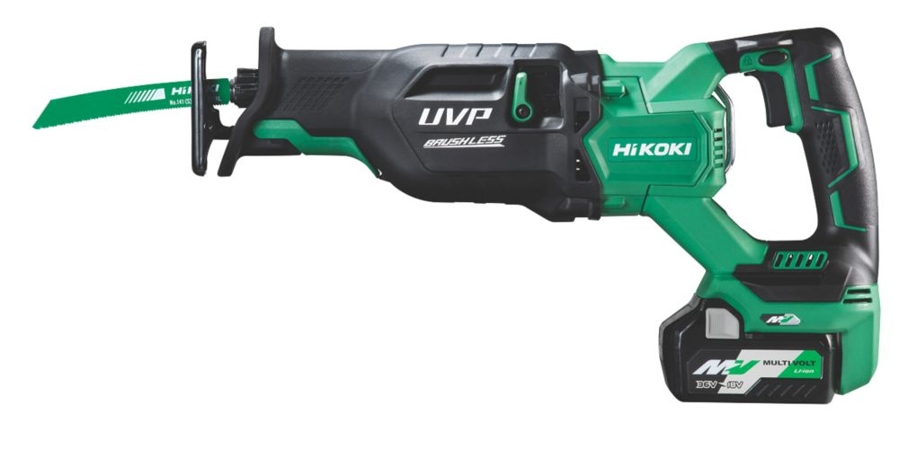 HiKOKI CR36DA/JAZ 36V 2.5Ah Li-Ion Multi Volt Brushless Cordless Reciprocating Saw