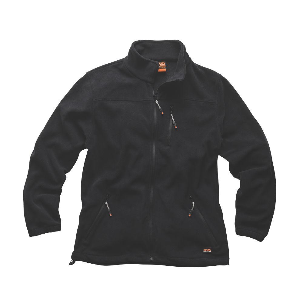 "Scruffs Worker Fleece Black Medium 44"" Chest"