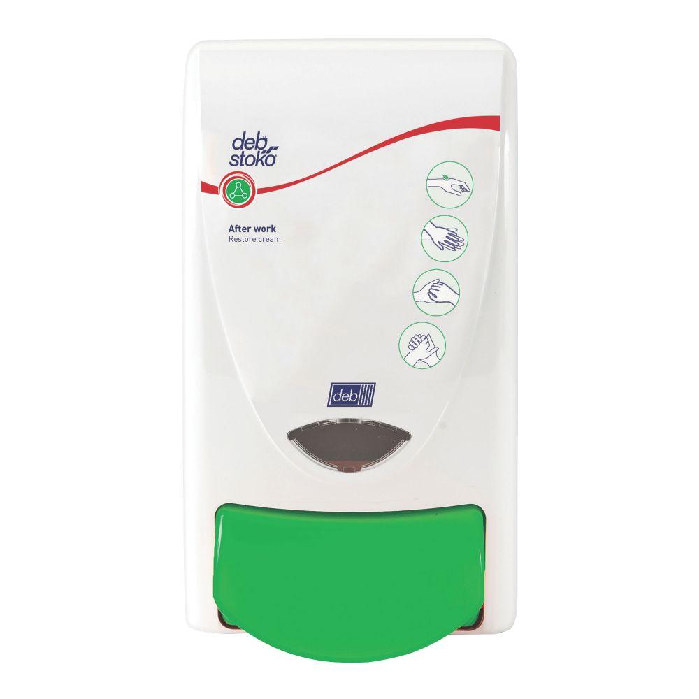 Deb Stoko White Restore Cream Dispenser 1Ltr