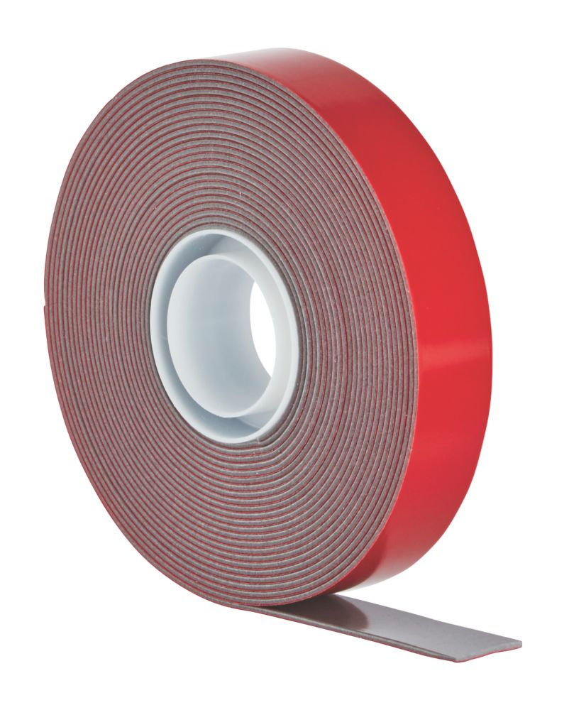 Scotch VHB Permanent Double-Sided External Mounting Tape Grey 5m x 19mm