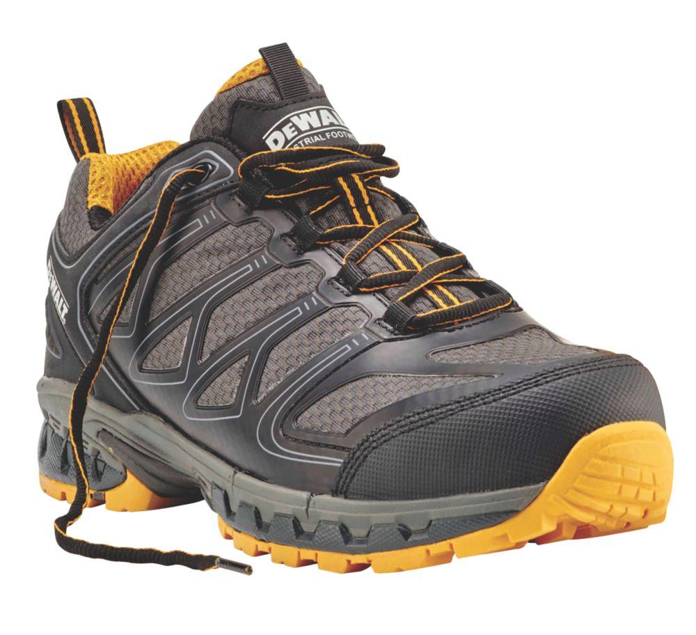 DeWalt Garrison   Safety Trainers Charcoal Grey / Yellow Size 11