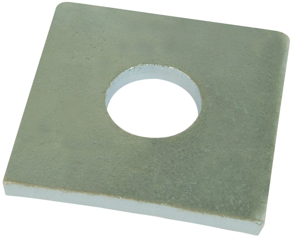 Easyfix Steel Square Washers M10 x 3mm 50 Pack
