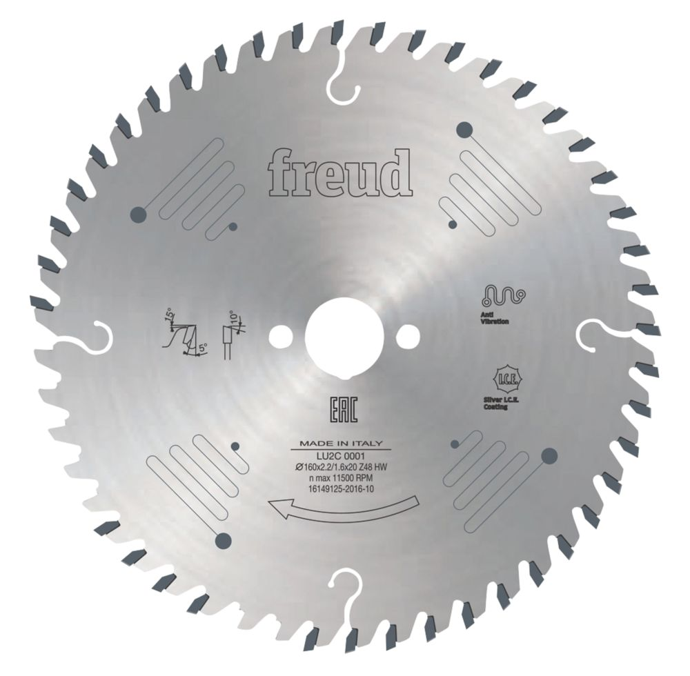 Freud Circular Saw Blade 160 x 20mm 48T