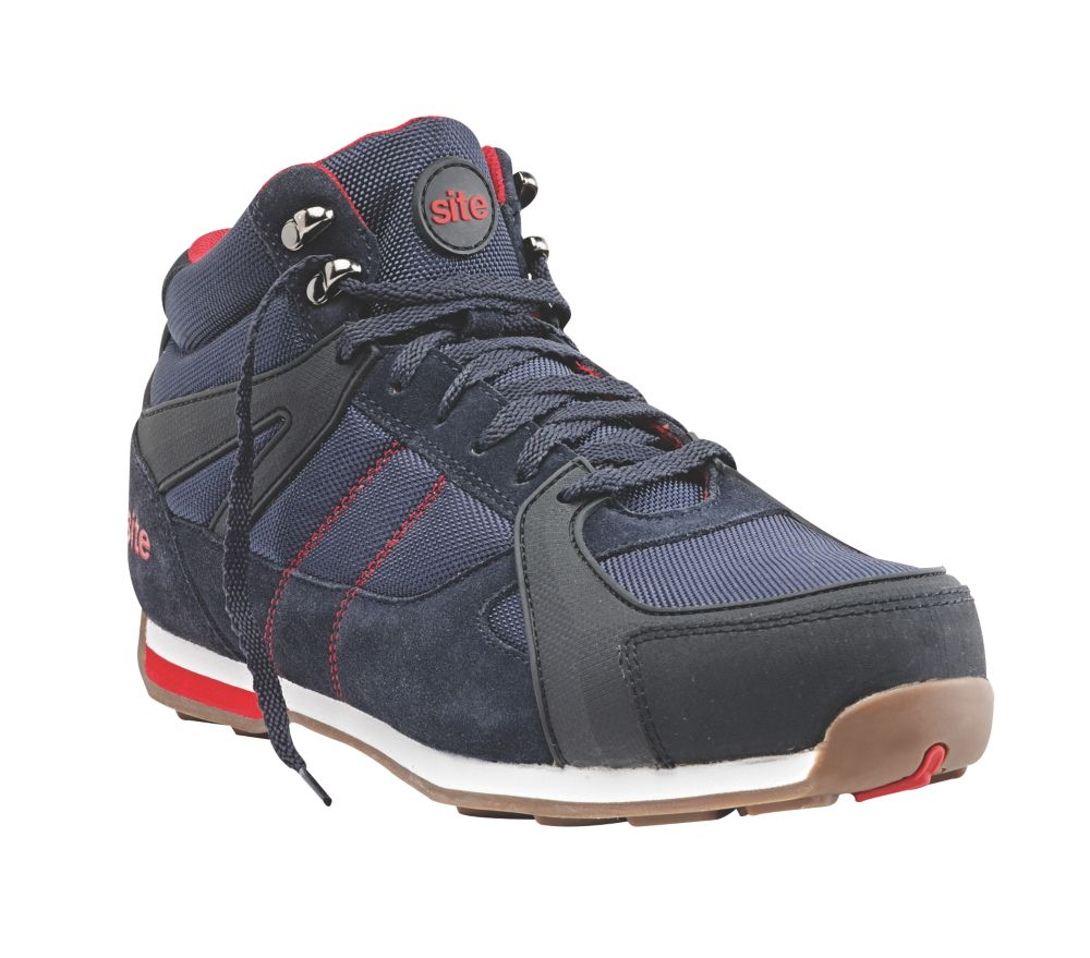 Site Strata High-Top   Safety Trainer Boots Navy Size 12