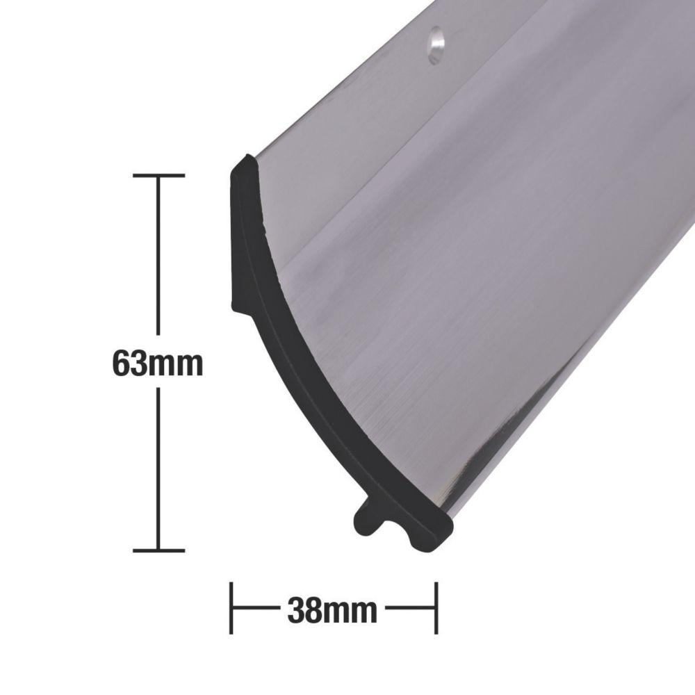 Stormguard Rain Deflector Polished Aluminium 914mm