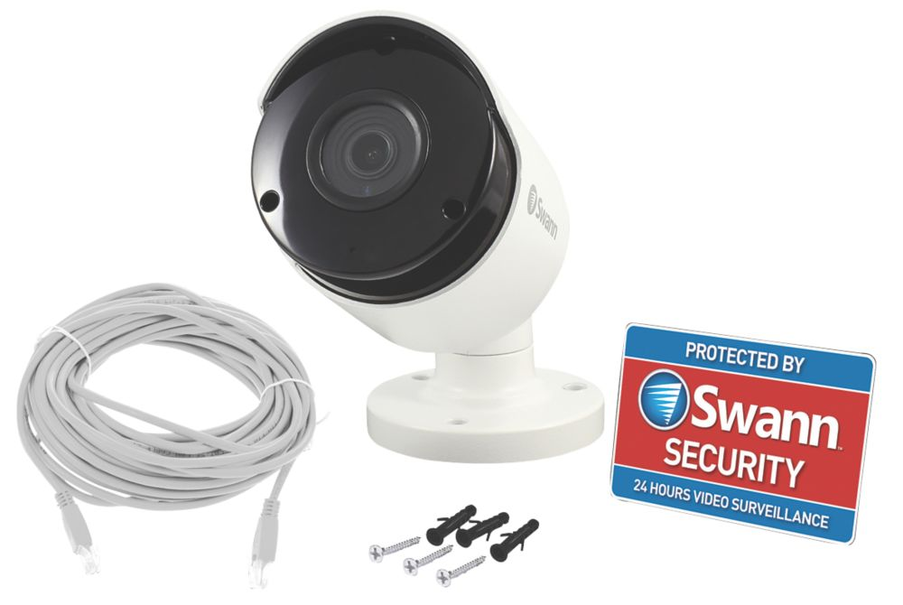 Swann   Wired 5MP Indoor & Outdoor  5MP CCTV Bullet Camera