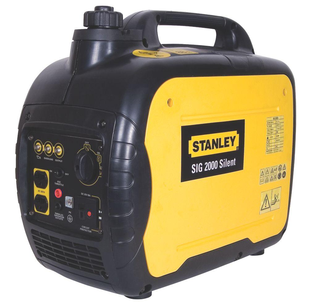 Stanley SIG2000 1600W Silent Inverter Generator 240V