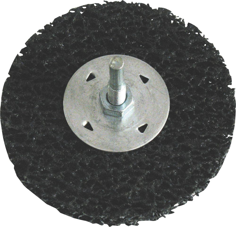 Spindle Surface Preparation Wheel With Arbor 100mm