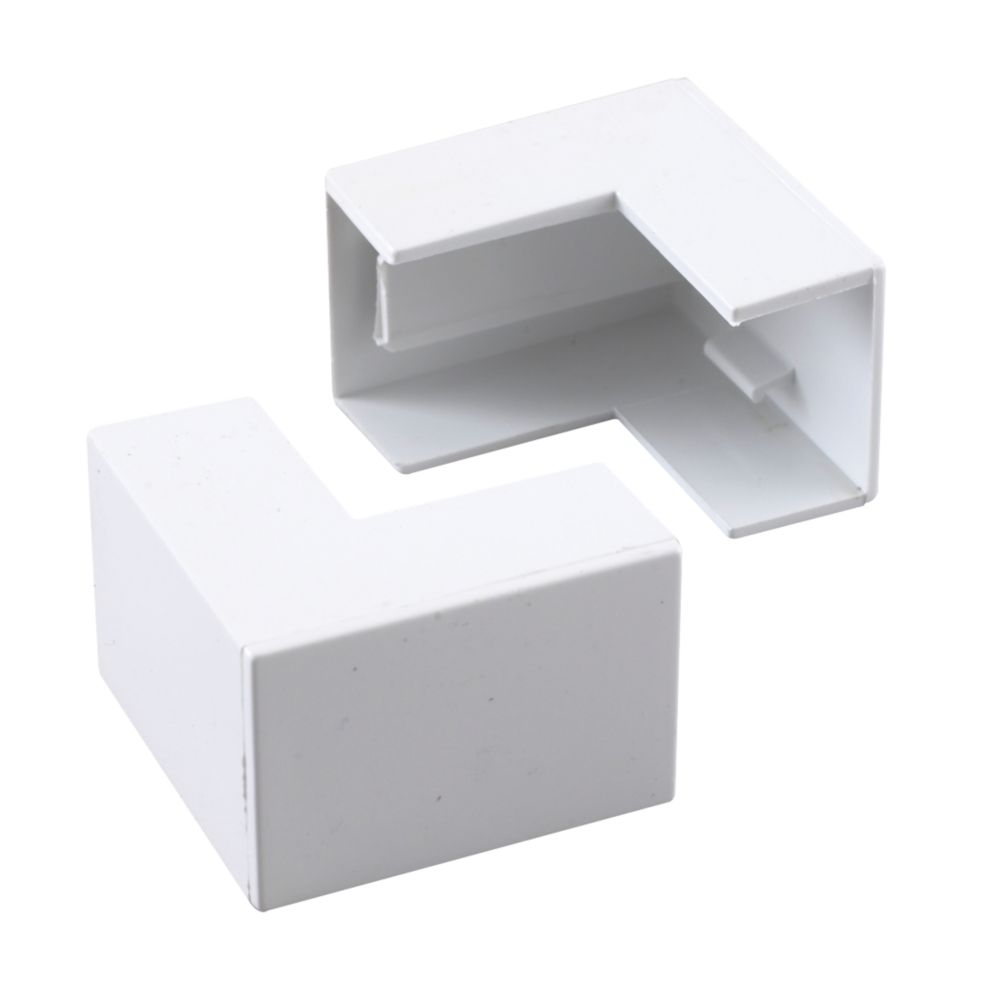 Tower  External Trunking Angle 25 x 16mm 2 Pack