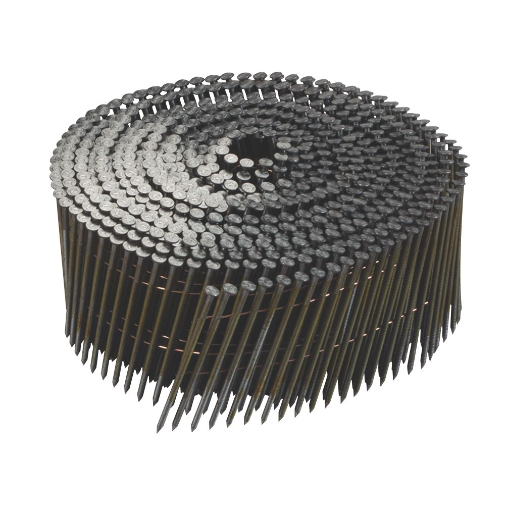 DeWalt Galvanised Ring Shank Coil Nails 2.03 x 35mm 21000 Pack