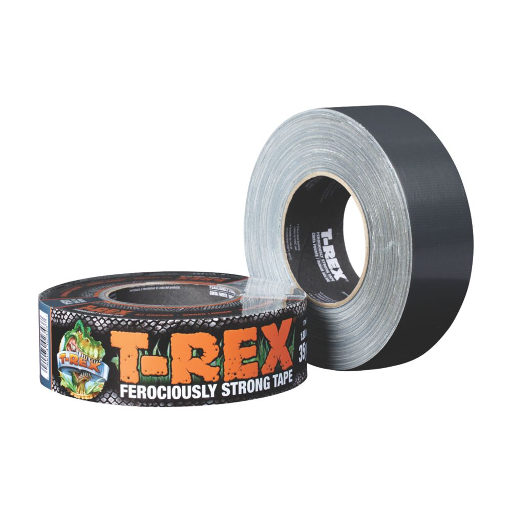 T-Rex Ferociously Strong Cloth Tape  Mesh Graphite Grey 32m x 48mm