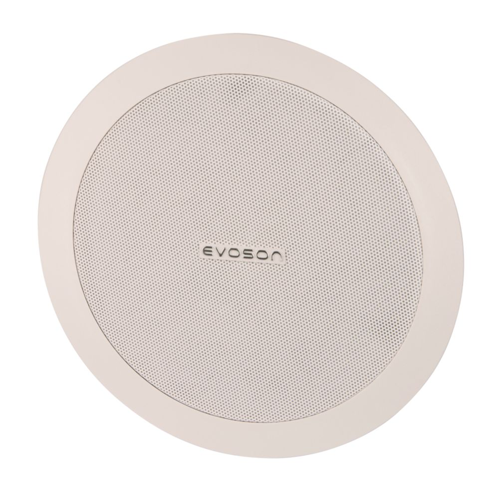 "Evoson  Ceiling Speaker White 9"" 20W RMS"