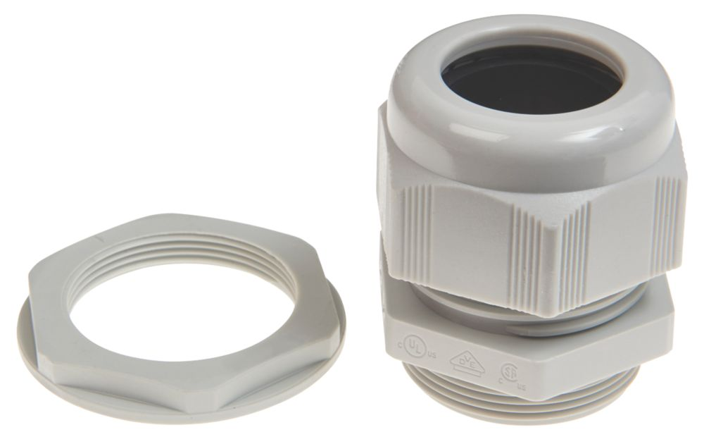 Schneider Electric Plastic Cable Glands  M12 20 Pack