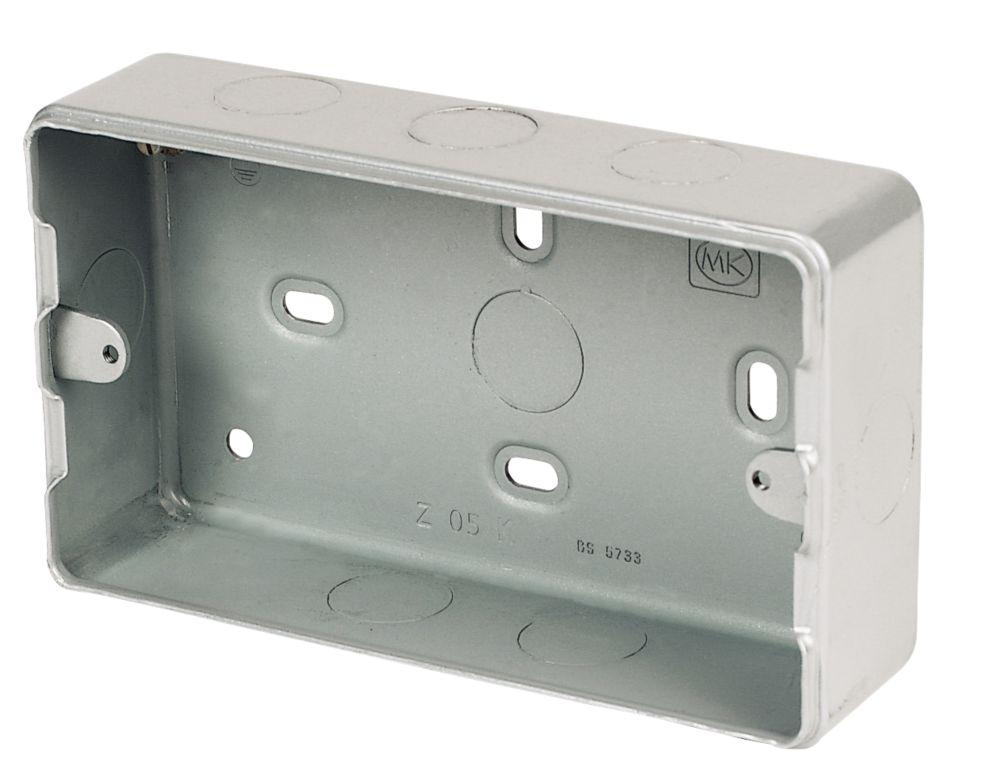 MK 3 & 4-Module Metal Clad Box