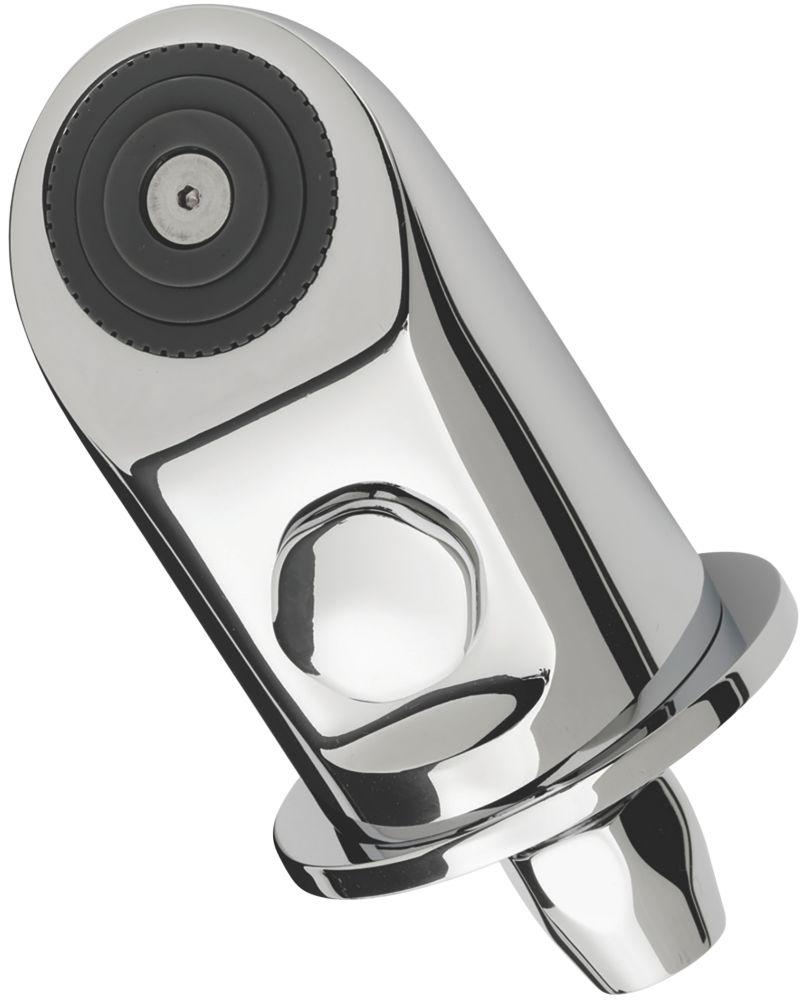 Triton Fixed Vandal-Resistant Shower Head Chrome 56mm
