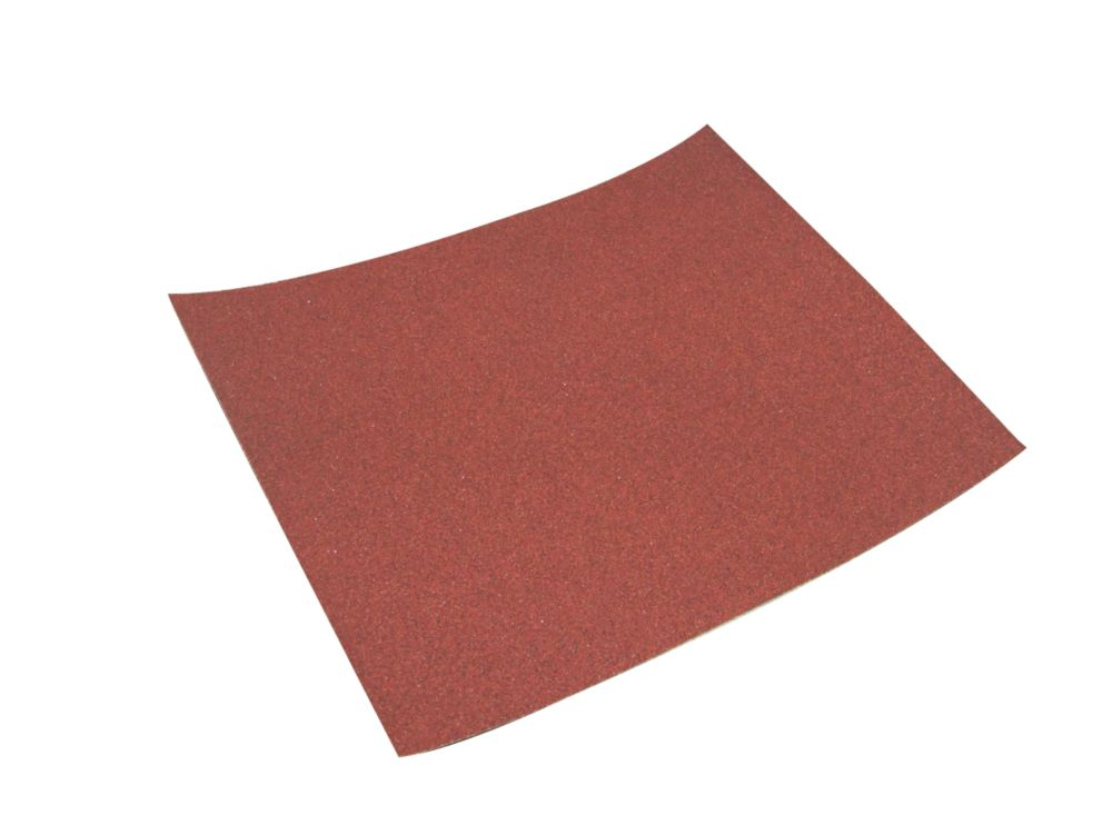 Titan Hand Sanding Sheets Unpunched 280 x 230mm 180 Grit 10 Pack