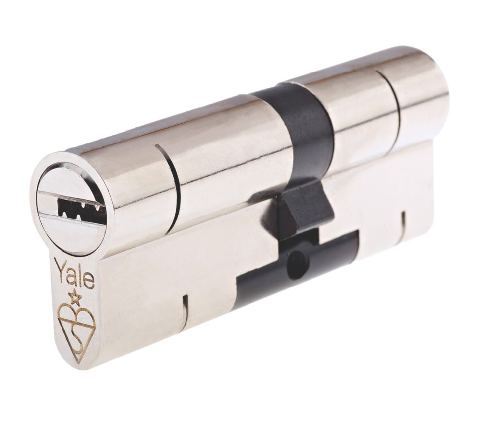 Yale  Superior 1-Star Euro Profile Cylinder 45-55 (100mm) Nickel