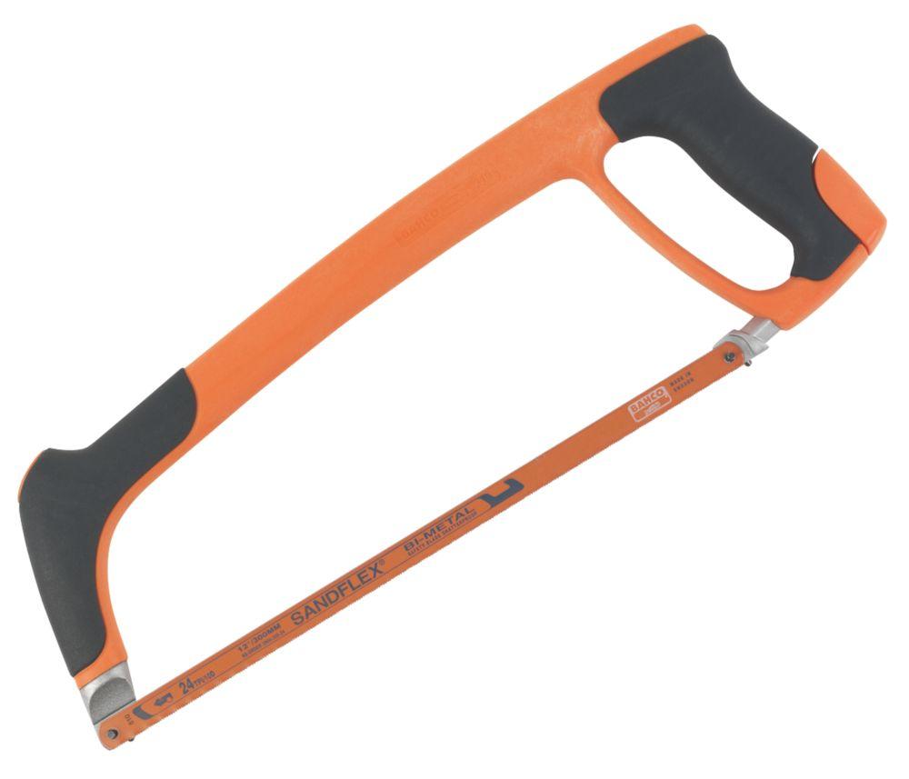 "Bahco  24tpi Metal/Plastic Hacksaw 12"" (300mm)"