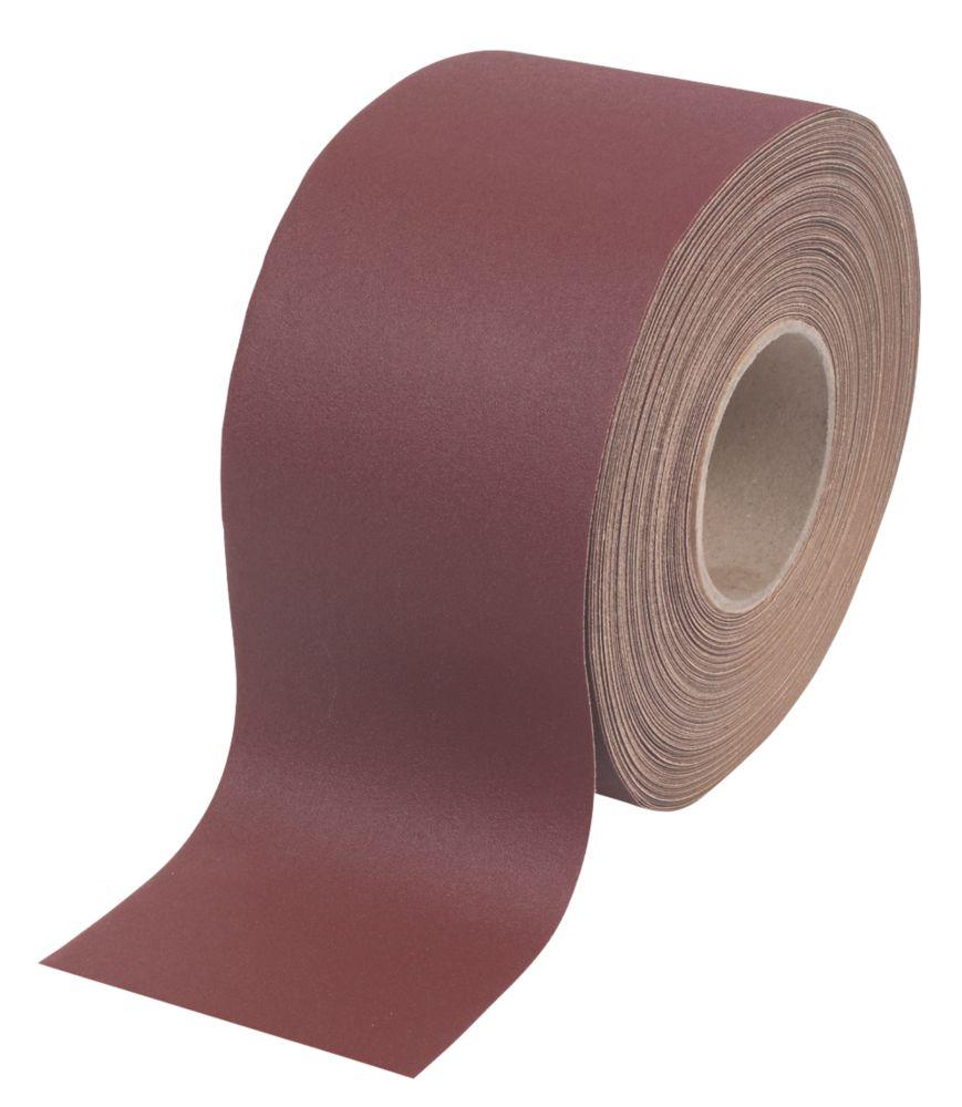 Flexovit Aluminium Oxide Sanding Roll Unpunched 25m x 115mm 240 Grit