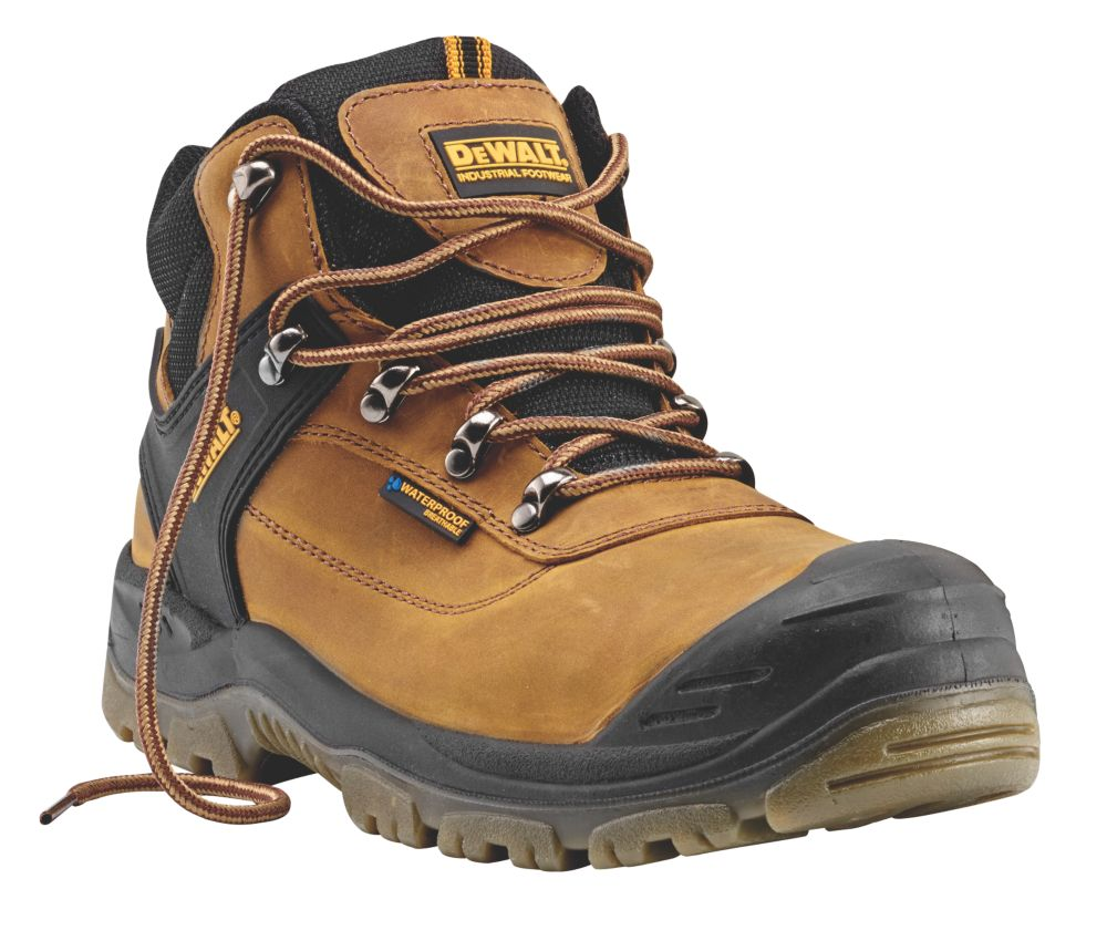 DeWalt Phoenix   Safety Boots Tan Size 11