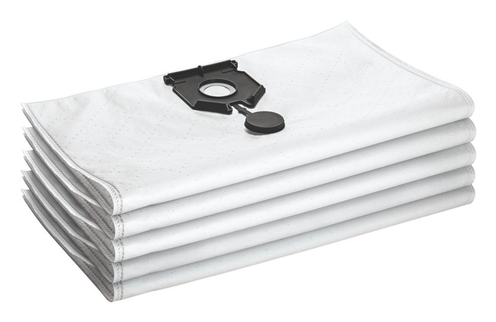 Karcher  40, 50Ltr Wet & Dry Vacuum Fleece Bags 5 Pack