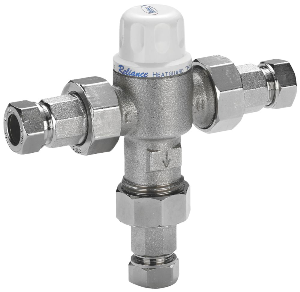 Reliance Valves HEAT160020 Heatguard 2-in-1 Thermostatic Mixing Valve 22mm