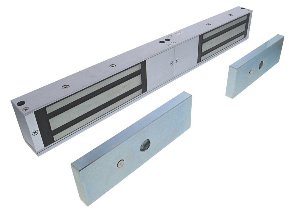 Briton 9502 Double Magnetic Door Lock Unmonitored Door Status 12 / 24V DC