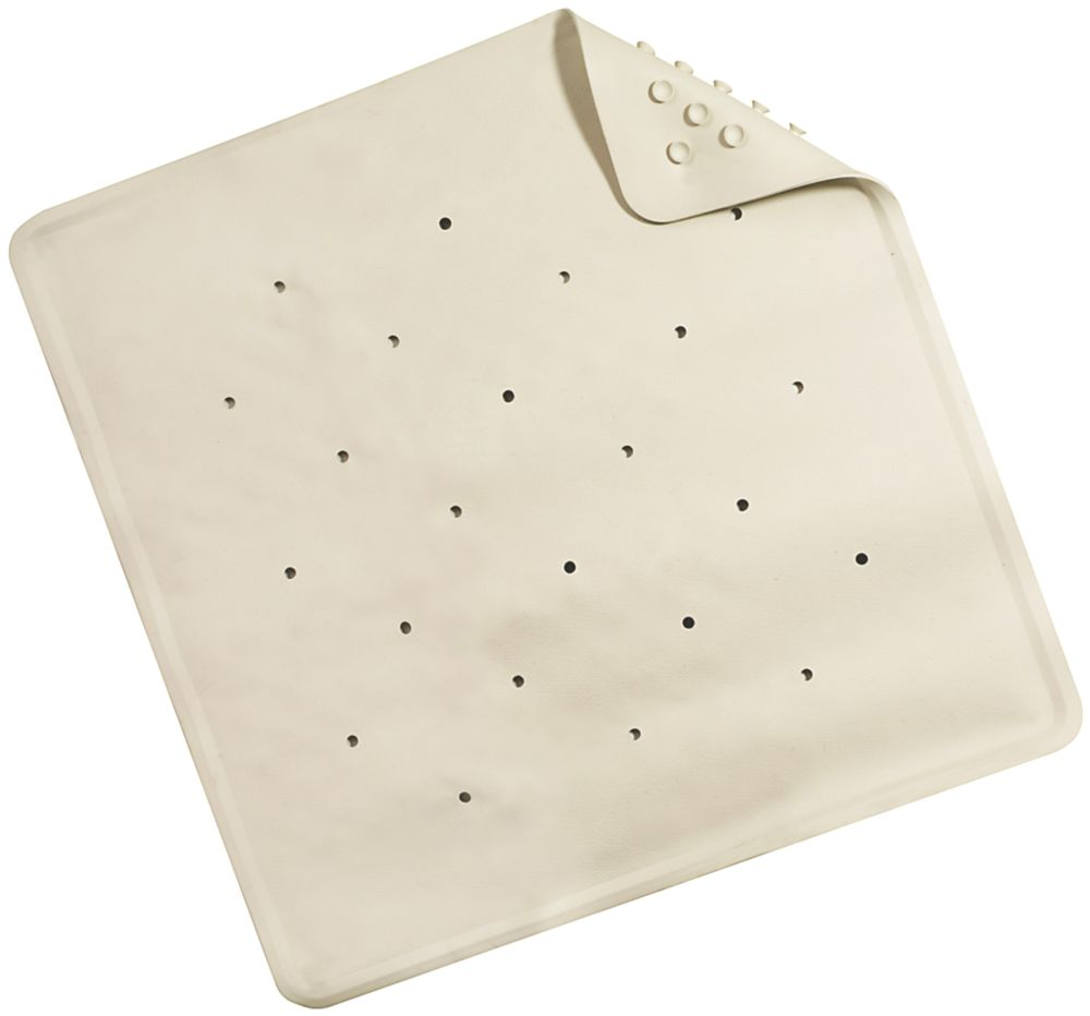 Croydex Rubagrip Shower Mat White