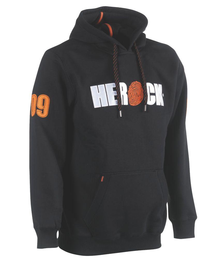 """Herock Enki Sweatshirt Black Large 47"""" Chest"""