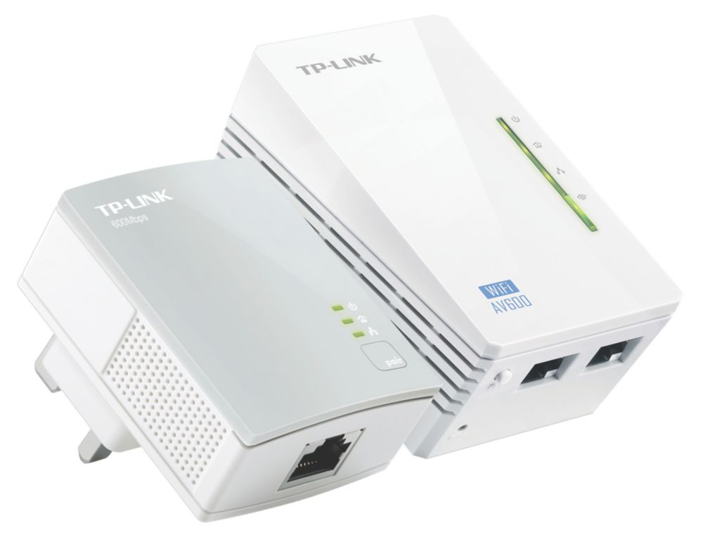 TP-Link TL-WPA4220KIT Single-Band N300 Powerline Kit 2 Pieces