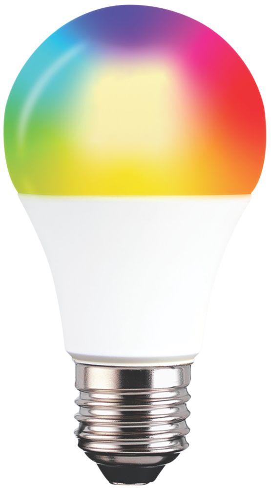 TCP LA60E2OWW25RGBW LED GLS ES Smart Light Bulb Colour-Changing 9W 806Lm