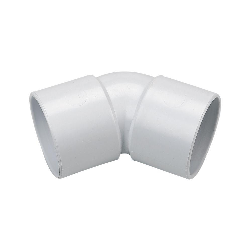FloPlast  Bends 135° White 40mm 5 Pack