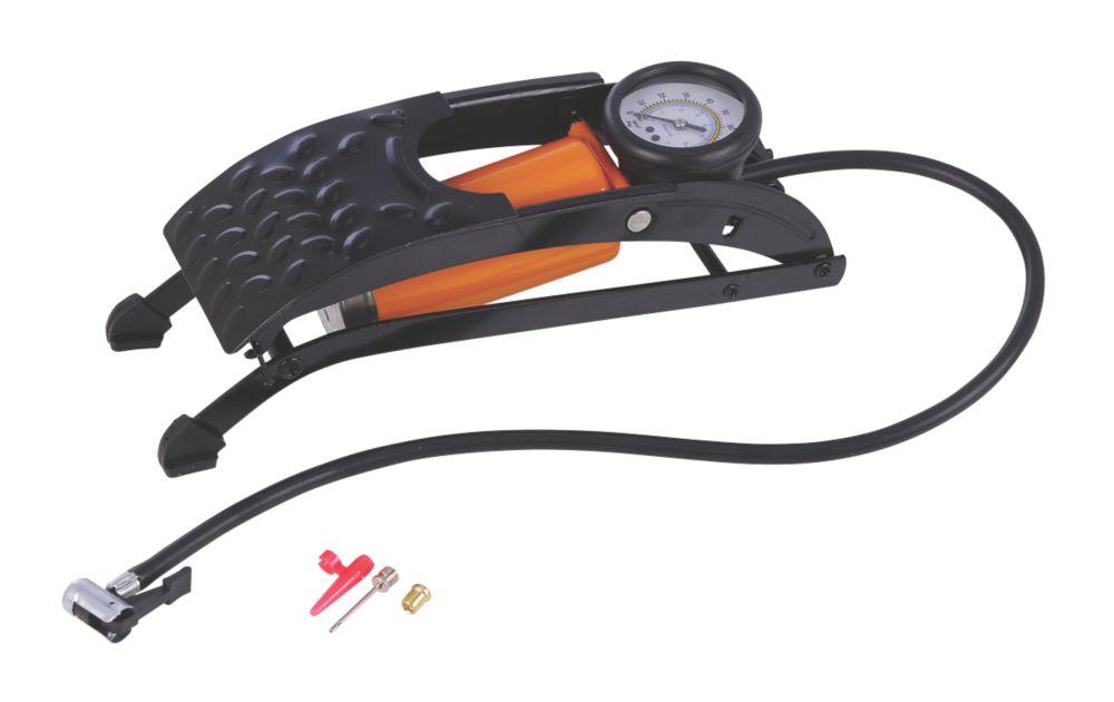 RAC Single-Barrel Foot Pump