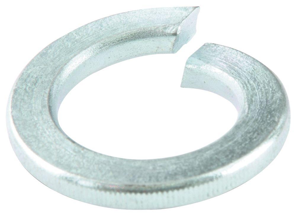 Easyfix Steel Split Ring Washers M4 x 0.9mm 100 Pack