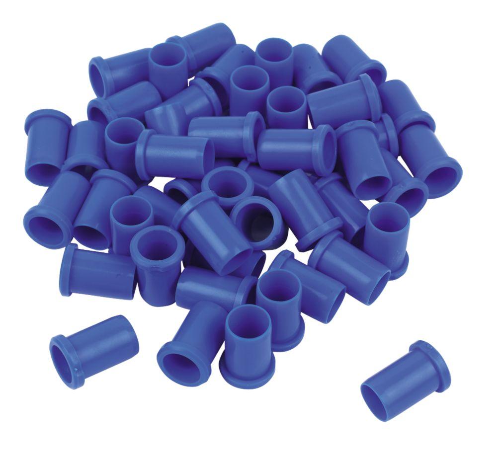 FloFit  Plastic Push-Fit Pipe Inserts 22mm 50 Pack