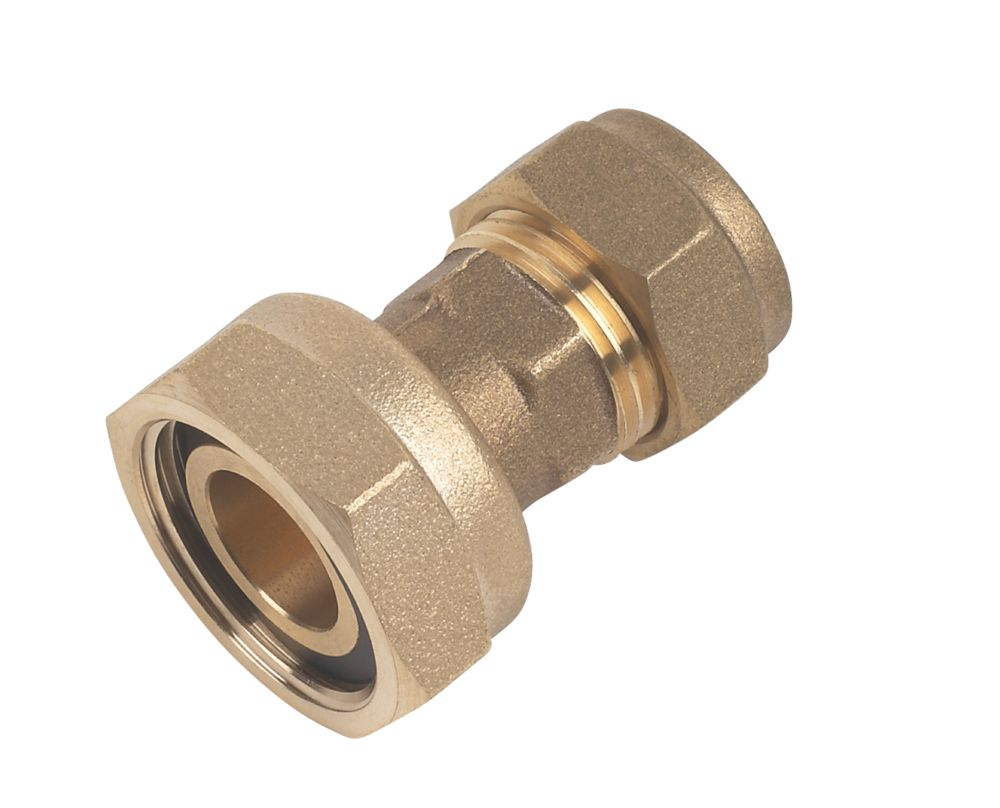 """Compression Straight Tap Connector 15mm x ¾"""""""