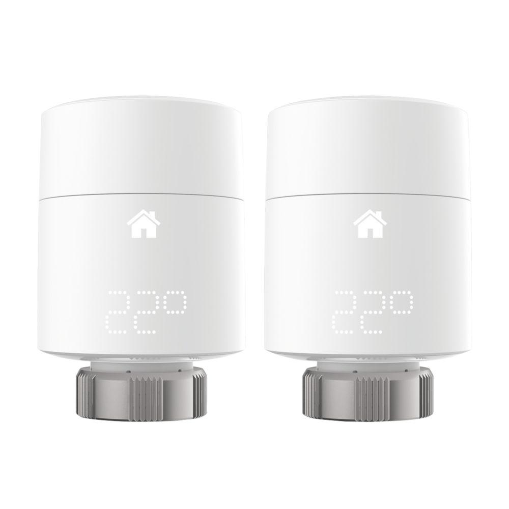 Tado   Smart Radiator Thermostat White 2 Pack