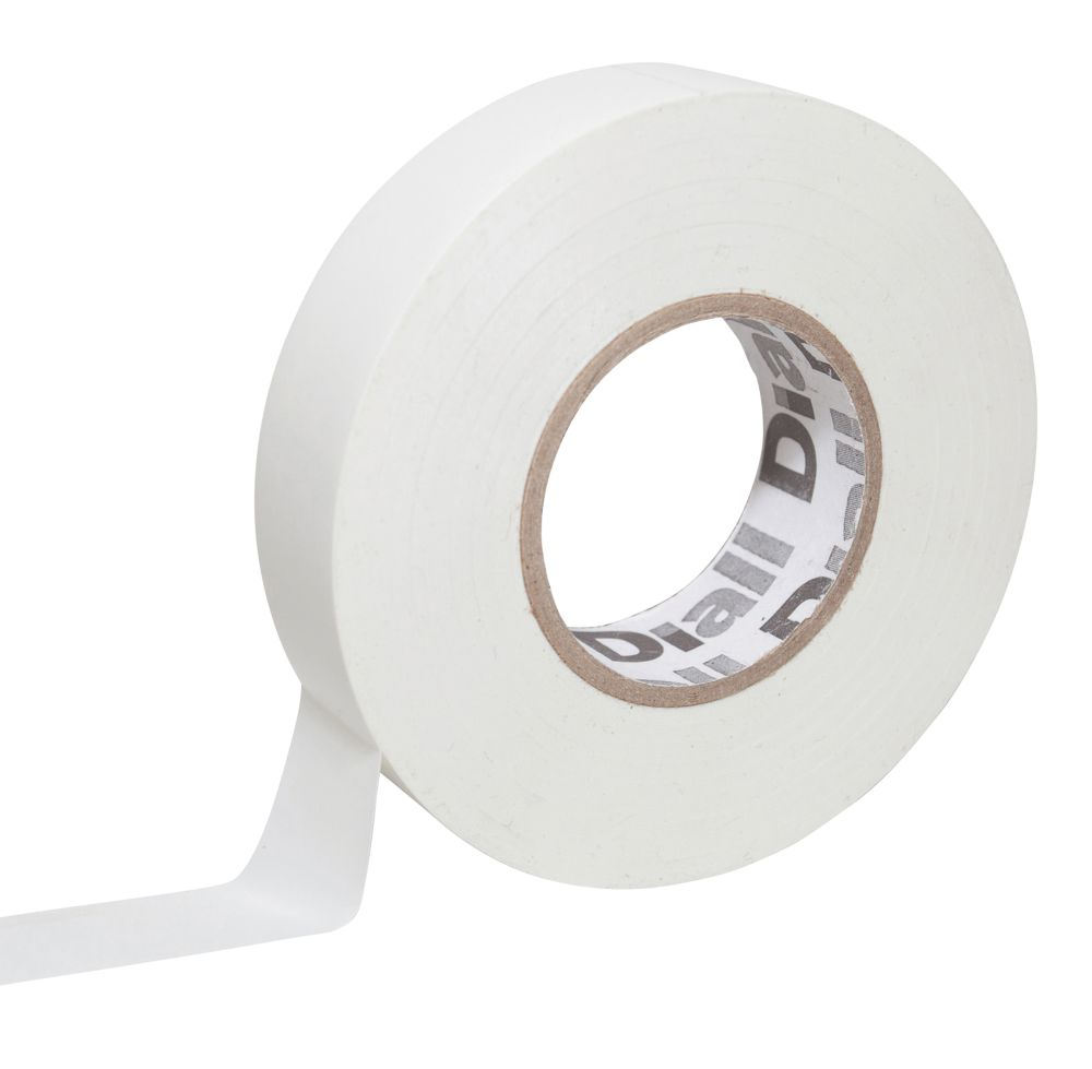 510 Insulating Tape White 33m x 19mm