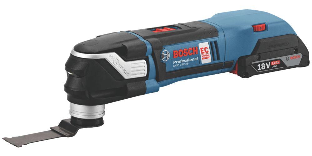Bosch 0615990J60 18V 3.0Ah Li-Ion  Brushless Cordless Multi-Tool