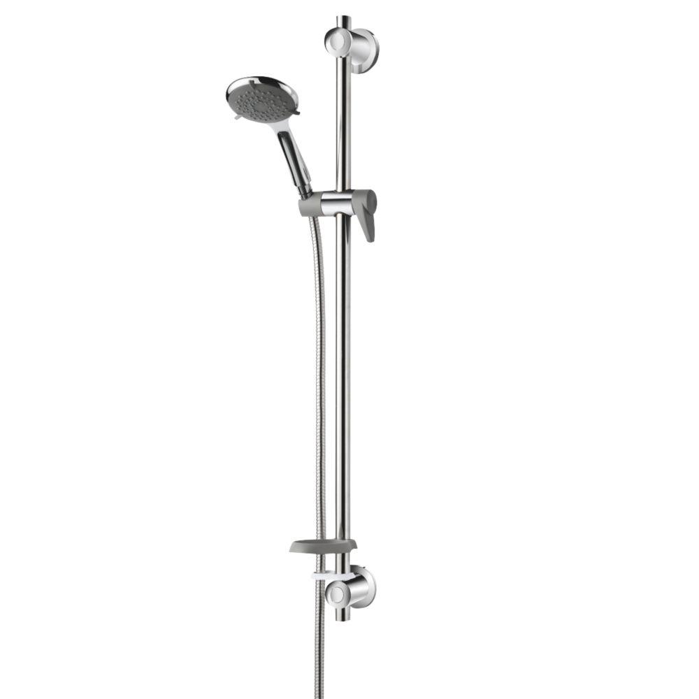 Triton  Shower Kit w/ Care Rail Traditional Design Chrome / Grey