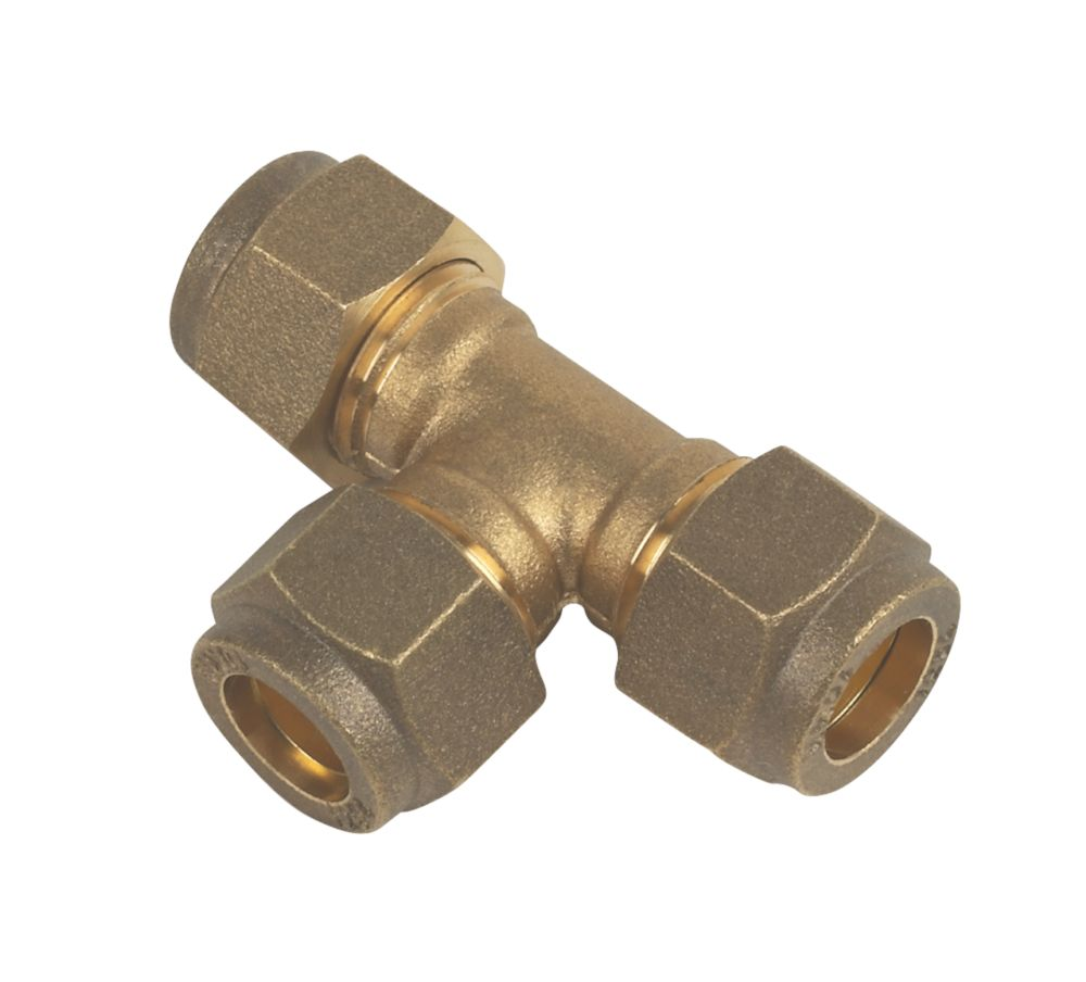 Compression Equal Tee 10mm