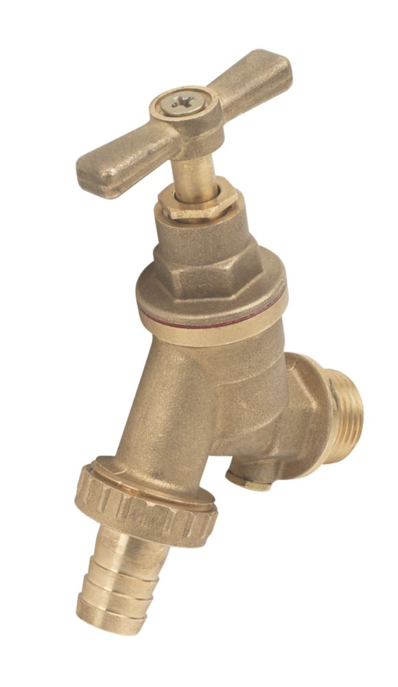 """Outside Tap with Double Check Valve 15mm x ½"""""""